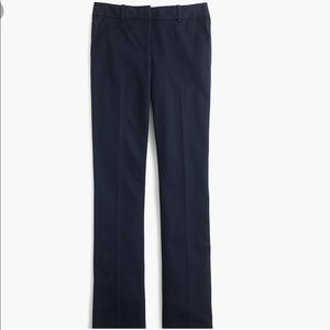 J. Crew Navy Blue Campbell Trouser Pant Sz 6